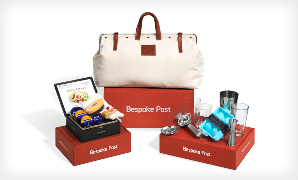 Bespoke Post Box Monthly Subscription Boxes just for Men